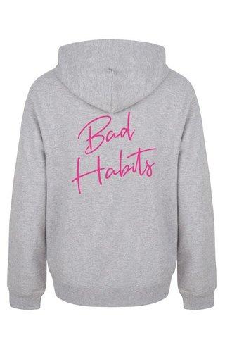BAD HABITS HOODIE NEON