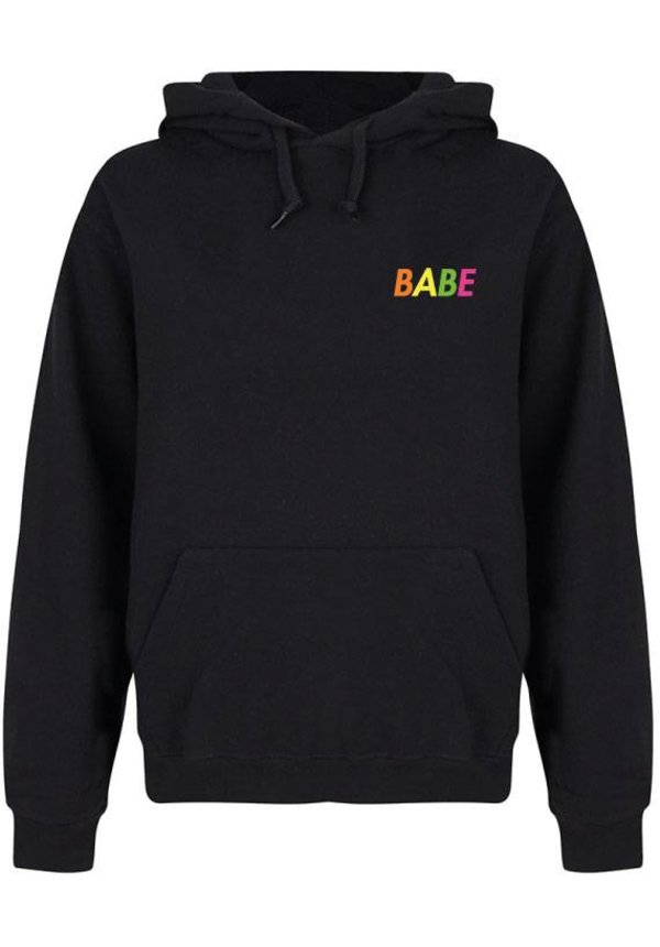 BABE HOODIE NEON
