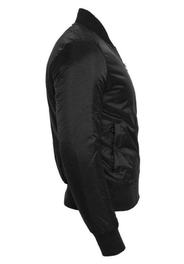 CUSTOM TEAM NUMBER BOMBER JKT ALL BLACK EDITION (WMN)