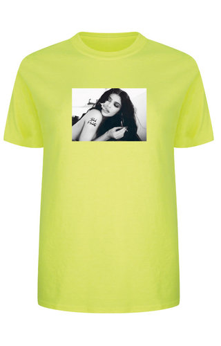 BAD HABITS PHOTO TEE NEON