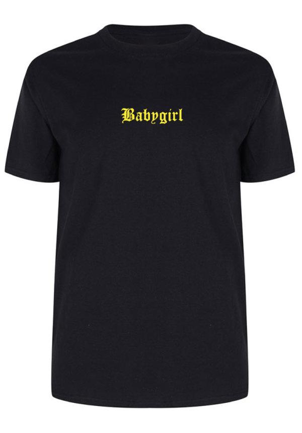 BABYGIRL LA TEE NEON PRINT