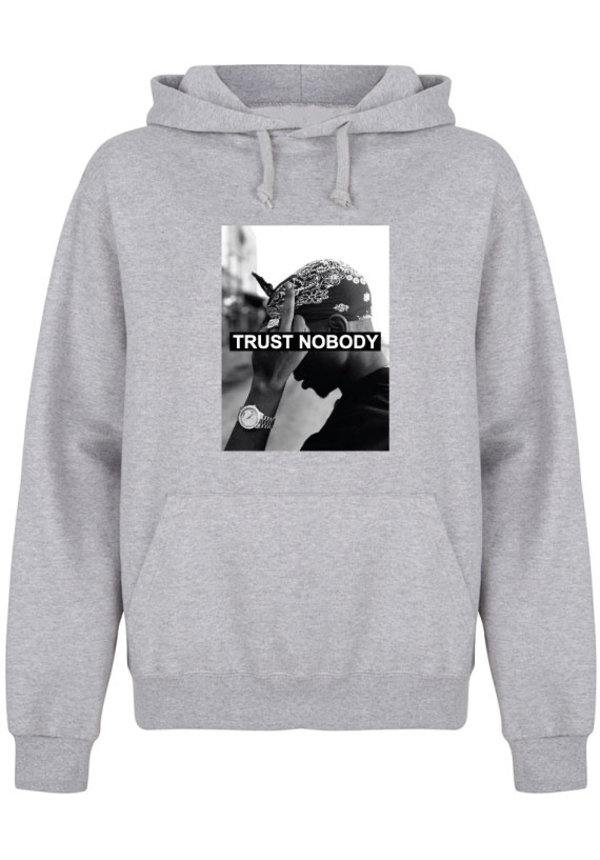 TRUST NOBODY PHOTO HOODIE (MEN)