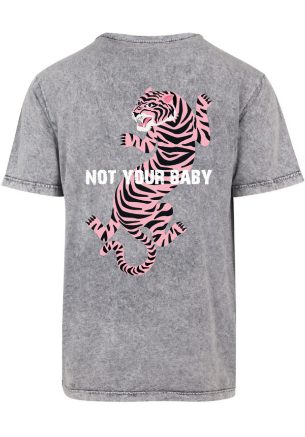 NOT YOUR BABY TIGER ACID TEE