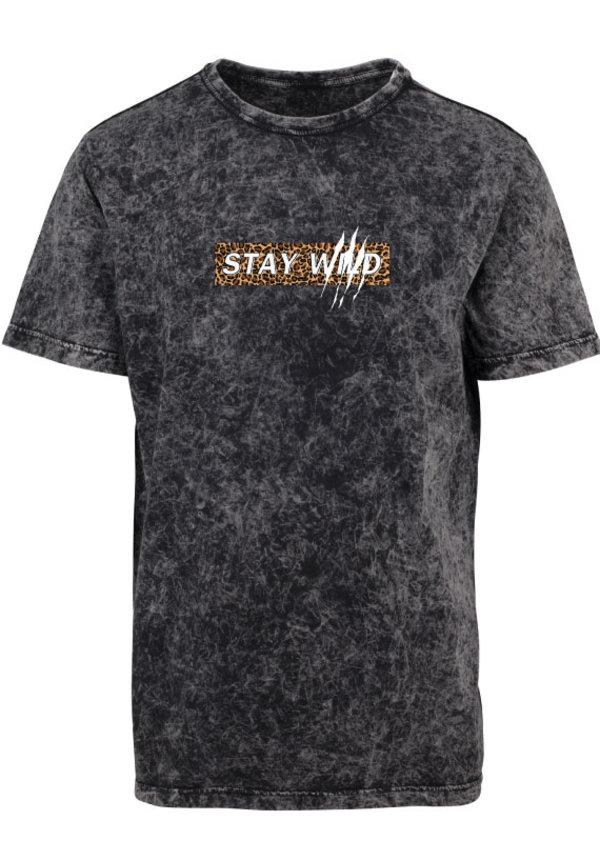 STAY WILD ACID TEE