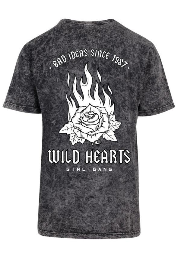 WILD HEARTS ACID TEE