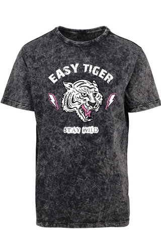 EASY TIGER STAY WILD ACID TEE