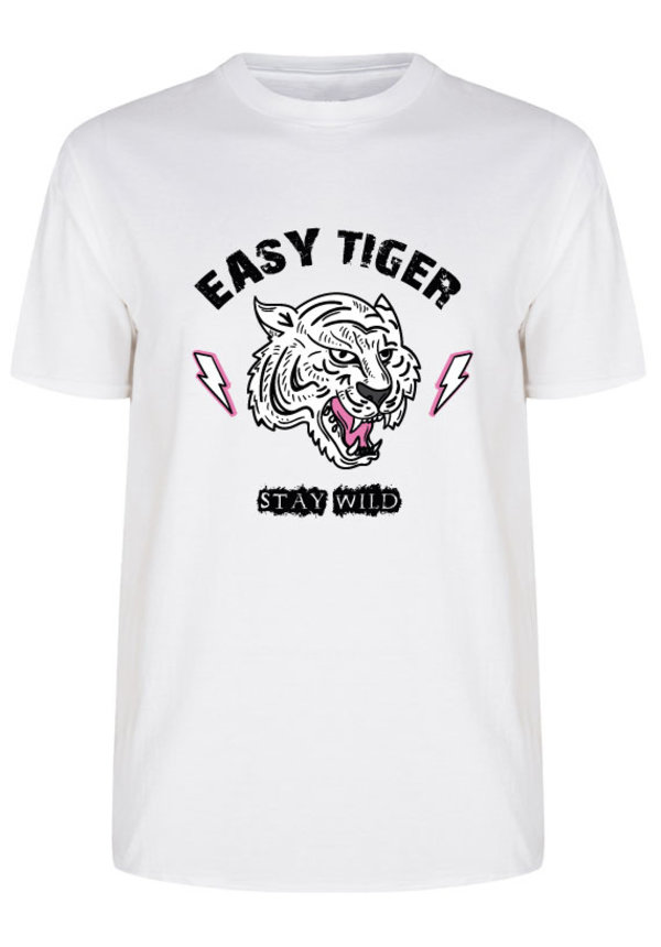 EASY TIGER STAY WILD TEE