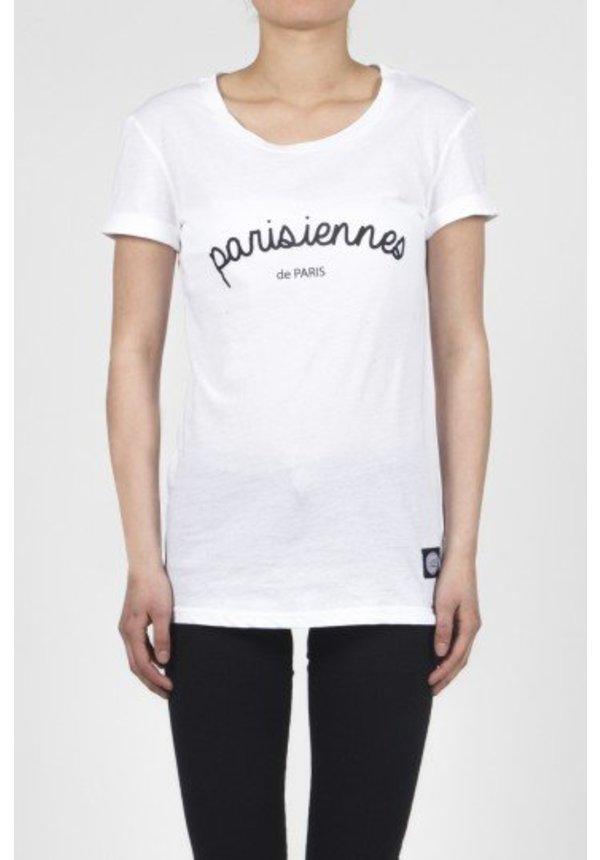 PARISIENNES TEE WHITE