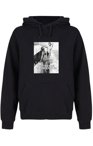 DON'T NEED A MAN PHOTO HOODIE