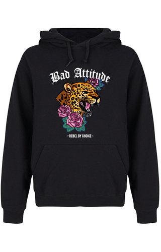 BAD ATTITUDE HOODIE BLACK