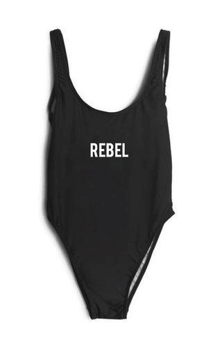 REBEL SWIMSUIT BLACK