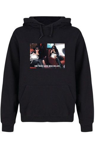 MAKE DOLLARS PHOTO HOODIE