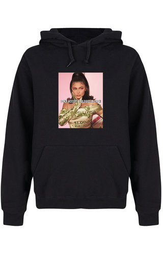 CASH ONLY PHOTO HOODIE