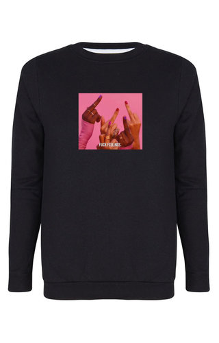 FUCK FEELINGS PHOTO SWEATER
