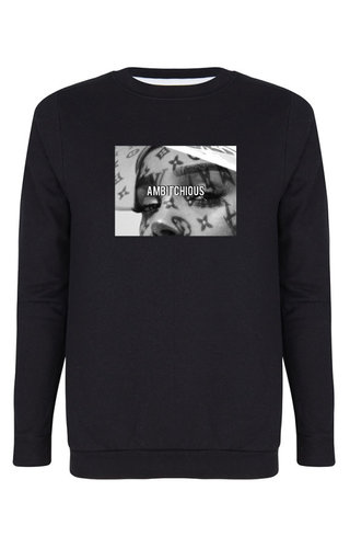 AMBITCHIOUS PHOTO SWEATER