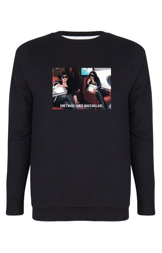 MAKE DOLLARS PHOTO SWEATER