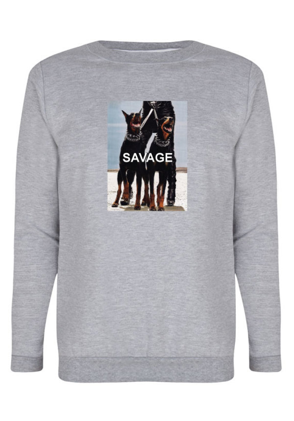SAVAGE PHOTO SWEATER