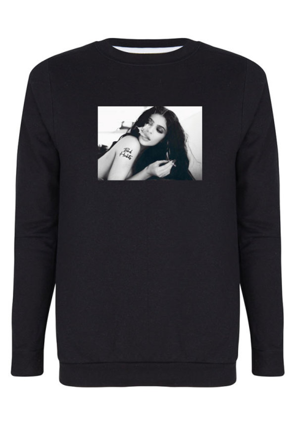 BAD HABITS PHOTO SWEATER
