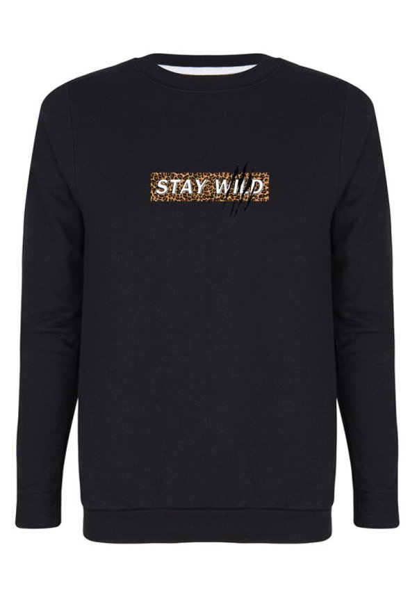 STAY WILD SWEATER