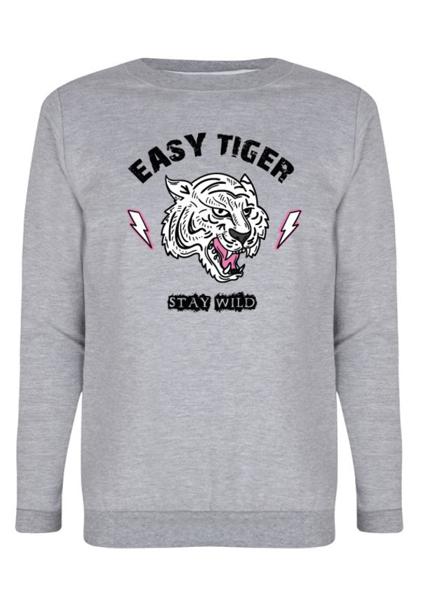 EASY TIGER STAY WILD SWEATER