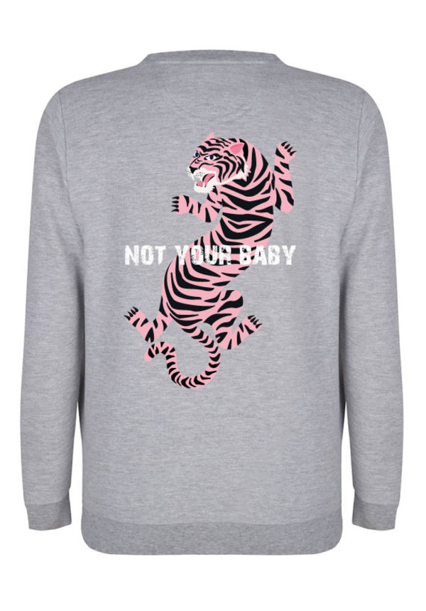 NOT YOUR BABY TIGER SWEATER