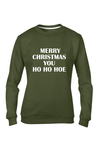 MERRY CHRISTMAS YOU HO SWEATER (WMN)