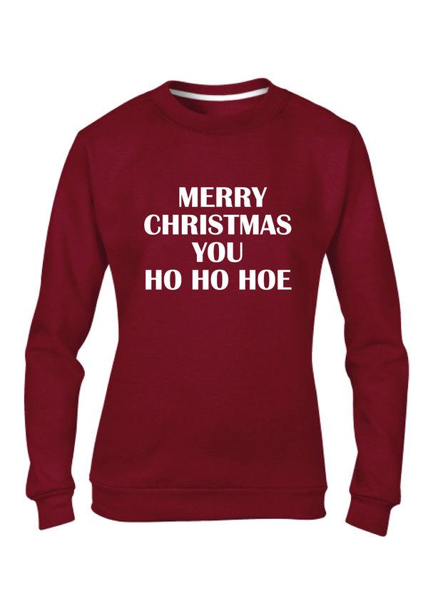 MERRY CHRISTMAS YOU HO SWEATER (WMN)