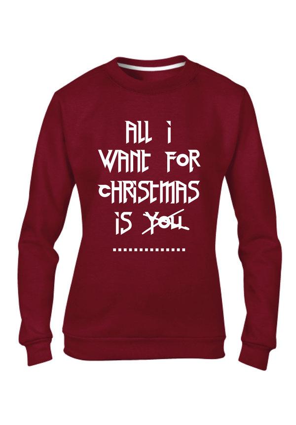CUSTOM CHRISTMAS SWEATER (WMN)