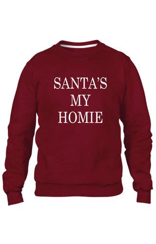 SANTA'S MY HOMIE SWEATER (MEN)