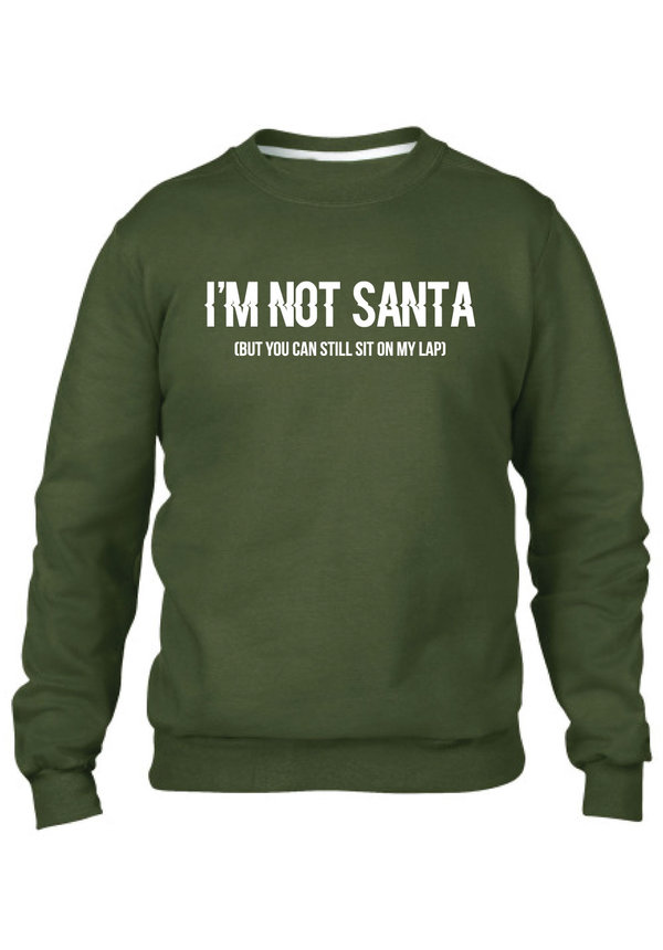 I'M NOT SANTA SWEATER (MEN)