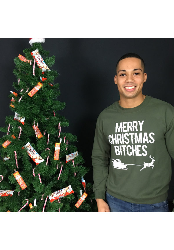 MERRY CHRISTMAS BITCHES SWEATER (MEN)