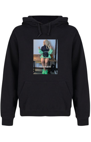 NEED NEW HATERS PHOTO HOODIE