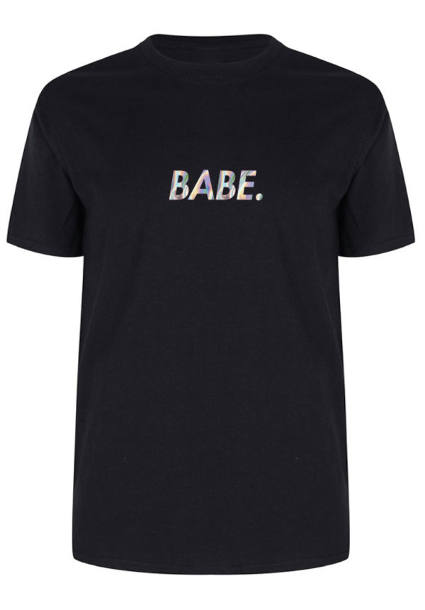 BABE TEE HOLOGRAPHIC
