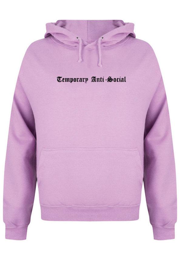 TEMPORARY ANTI-SOCIAL HOODIE LILAC