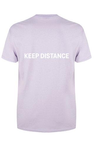 KEEP DISTANCE TEE SOFT PINK - Copy