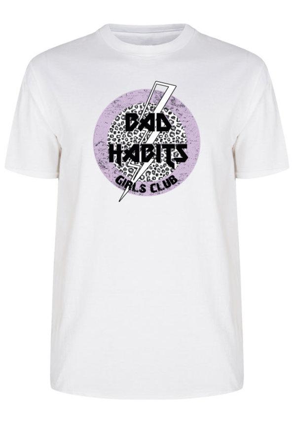 BAD HABITS GIRLS CLUB CIRCLE TEE