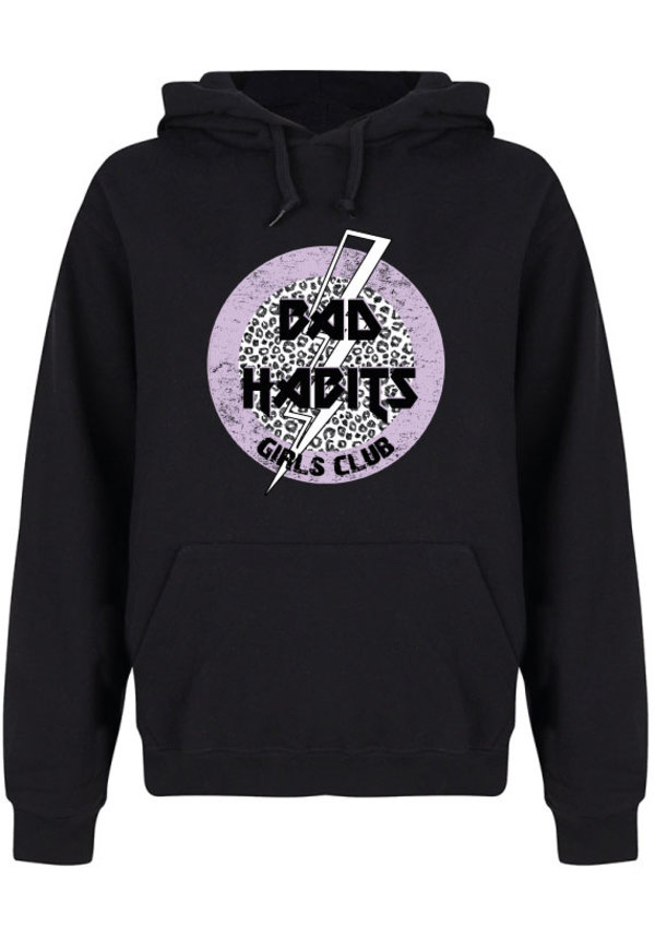 BAD HABITS GIRLS CLUB CIRCLE HOODIE
