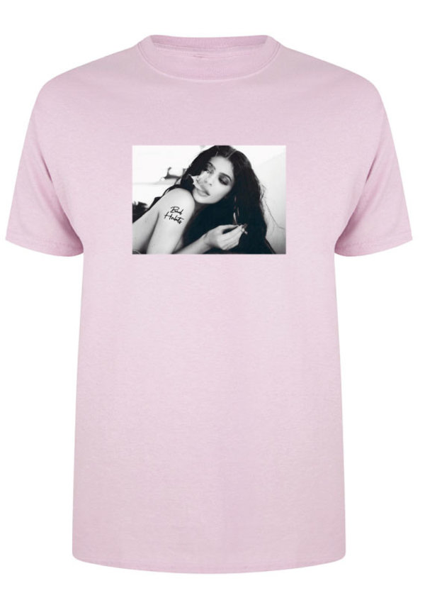 BAD HABITS PHOTO TEE PASTEL
