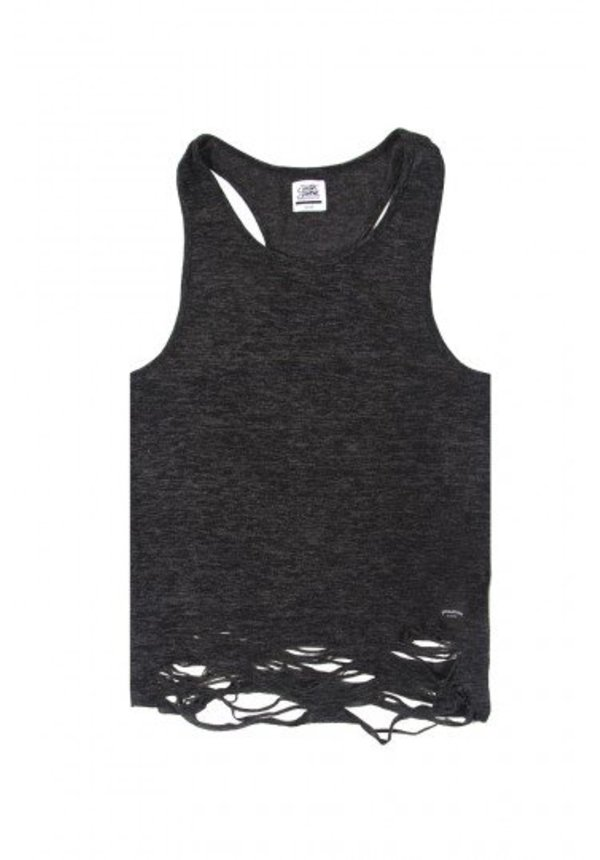 DESTROYED TANK TOP GREY