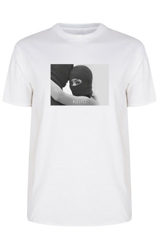 RIDE OR DIE PHOTO TEE WHITE