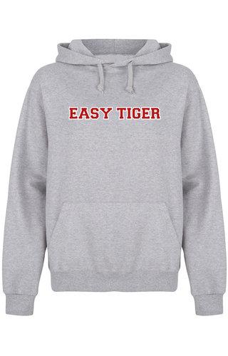 EASY TIGER HOODIE GREY