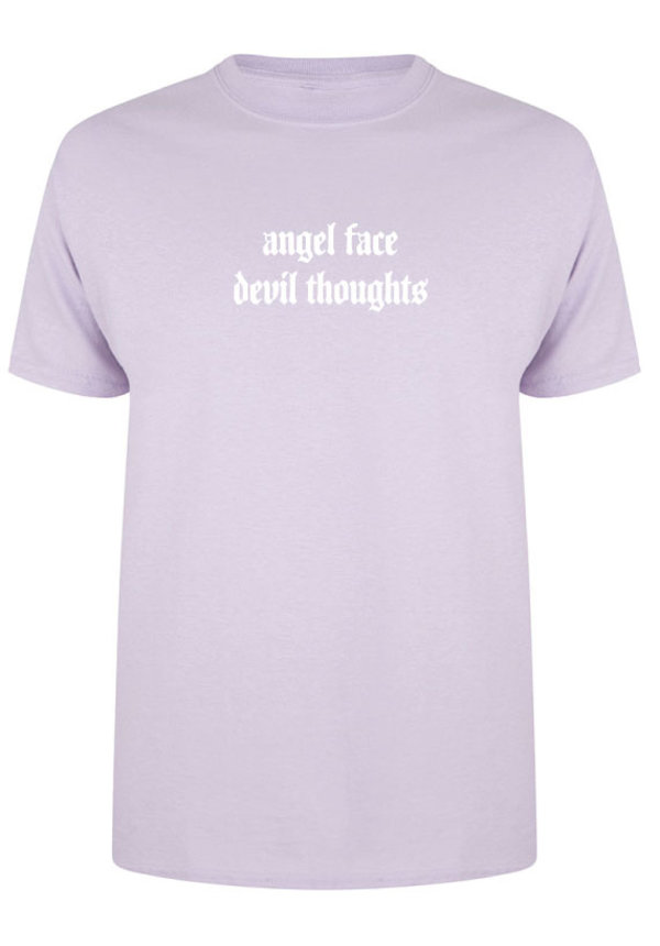 ANGEL FACE TEE PASTEL