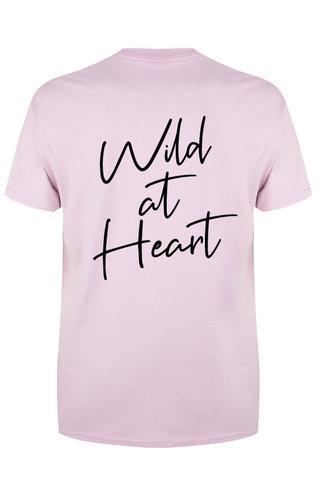 WILD AT HEART TEE PASTEL