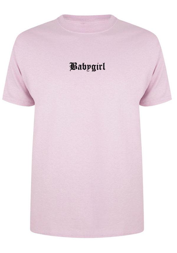 BABYGIRL LA TEE PASTEL