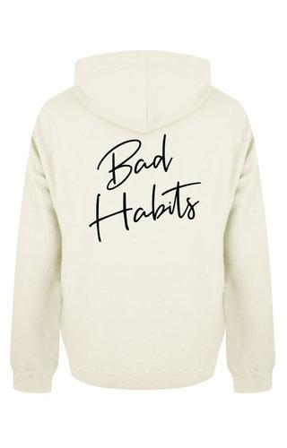 BAD HABITS SIGNATURE HOODIE CREAM