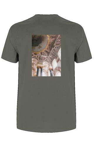 WILD AT HEART PHOTO TEE CHARCOAL