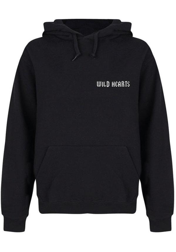 WILD HEARTS HOODIE BLACK