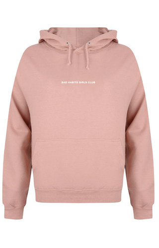 BHGC HOODIE DUSTY ROSE