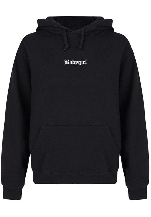 BABYGIRL LA HOODIE BLACK