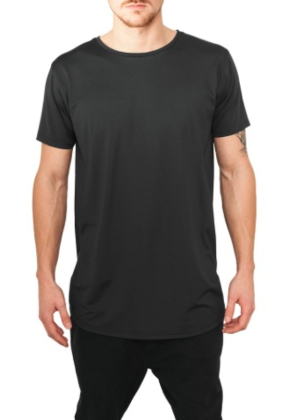 BASIC NEOPRENE LONG TEE BLACK (MEN)